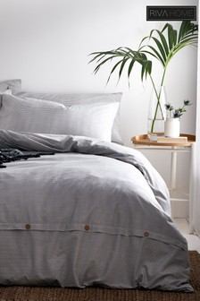 Holbury Duvet Cover and Pillowcase Set by Riva Home