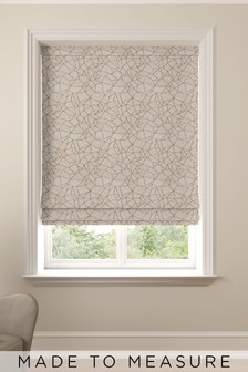 Cullen Copper Gold Made To Measure Roman Blind