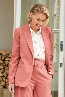 Pink Emma Willis Relaxed Jacket