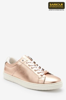 Barbour® International Rose Gold Herrera Trainers