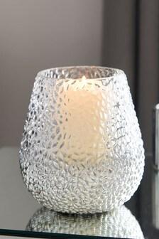 Monroe Glass Hurricane Vase