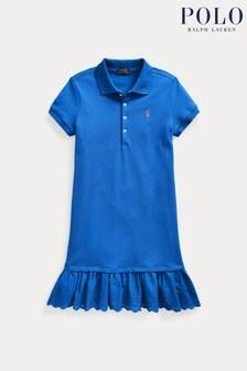Ralph Lauren Blue Logo Polo Dress
