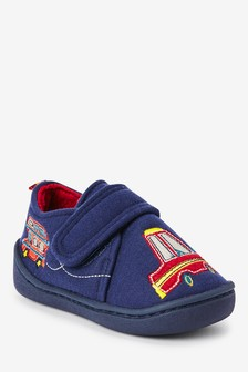 Navy Transport Slippers (Younger)