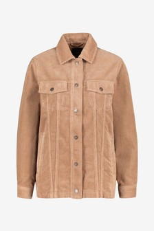 Camel Long Cord Jacket