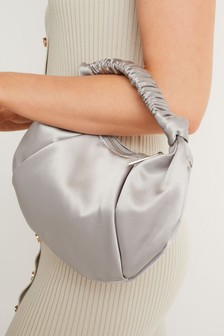 Grey Handheld Mini Bag
