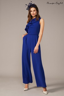 Phase Eight Blue Maeve Jumpsuit