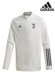 adidas Grey Juventus 20/21 Training T-Shirt