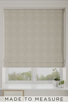 Mabel Sand Cream Made To Measure Roman Blind