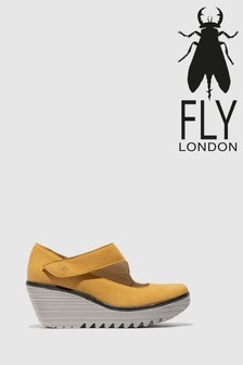 Fly London Wedge Round Toe Wedges