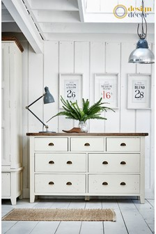 Cotswolds 7 Drawer Chest of Drawers by Design Decor
