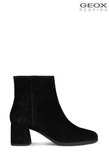 Geox Womens Calinda Black Boots