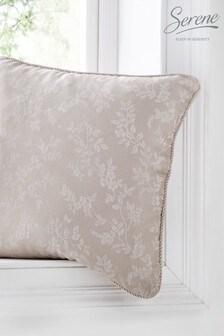 Ebony Jacquard Cushion by Serene