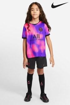 Nike Pink PSG 20/21 4 Mini Kit