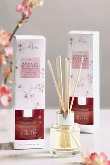 Set of 2 Apricot Blossom 40ml Diffusers