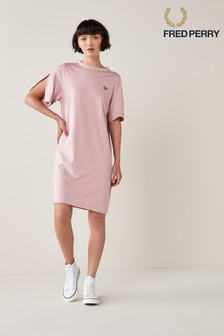 Fred Perry Taped Insert Sleeve Dress