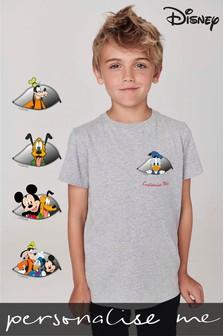 Personalised Disney™ Peeking Characters T-Shirt