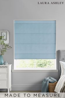 Laura Ashley Easton Pale Seaspray Made to Measure Roman Blind