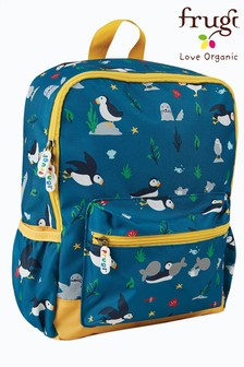 Frugi National Trust Puffins  Recycled Polyester Rucksack