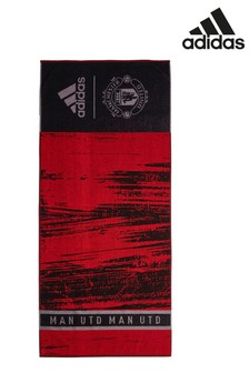 adidas Red Manchester United Towel