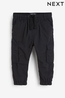 Black Cargo Trousers (3mths-7yrs)