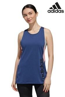 adidas D2M Colourblock Logo Vest