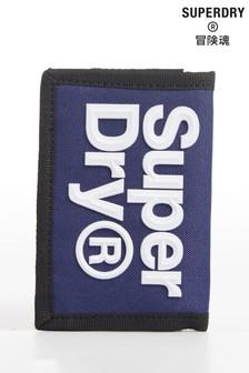 Superdry Blue Velcro Wallet