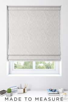 Lara Pearl Cream Made To Measure Roman Blind