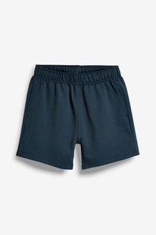 Navy Jersey Shorts (3-16yrs)