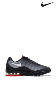 Nike Black/White Air Max Invigor Youth Trainers