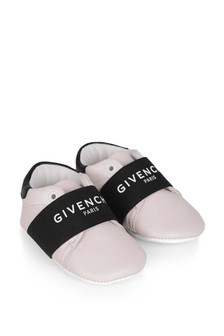 Baby Girls Pink Leather Pre-Walker Shoes