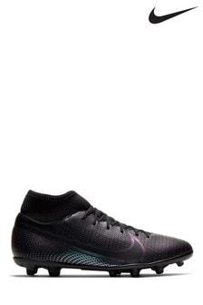 Nike Black Mercurial Superfly 7 Club Mulri Ground Football Boots