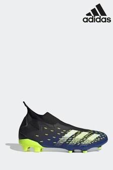 adidas Black Predator P3 Laceless Football Boots