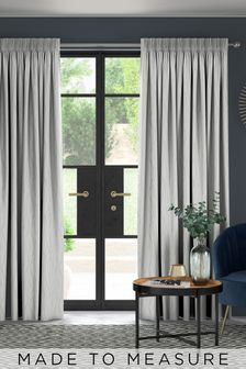 Legna Oyster Natural Made To Measure Curtains
