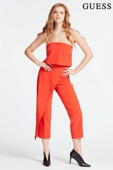 Guess Red Catarina Jumpsuit