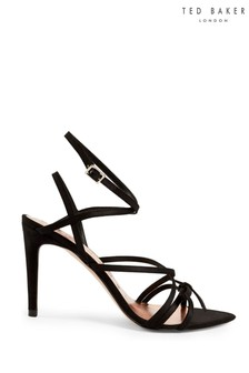 Ted Baker Black Strappy Shoes