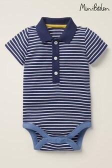 Boden Blue Smart Jersey Bodysuit