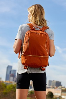 Tan Multiple Compartment Rucksack