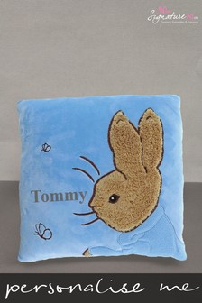 Personalised Peter Rabbit Cushion by Signature PG