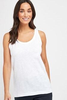 White Weekend Vest