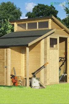 7x10 Skylight Shed With Store including Assembly By Rowlinson