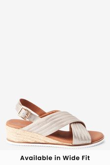 Silver Forever Comfort® Quilted Wedges