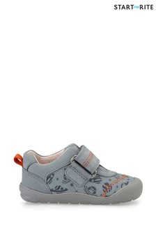 Start-Rite Footprint Grey First Steps Shoes