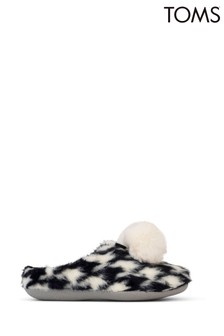 TOMS Hound Tooth Slippers
