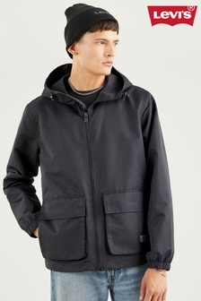 Levi's® Black Tactical Windbreaker Jacket