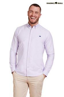 Raging Bull Purple Signature Oxford Shirt