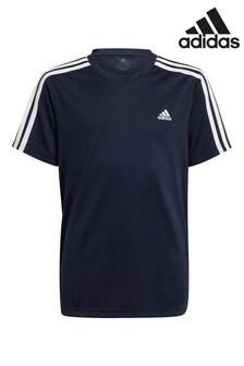 adidas Performance 3 Stripe D2M T-Shirt
