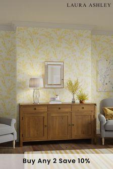 Honey Balmoral Honey 3 Door 3 Drawer Sideboard by Laura Ashley