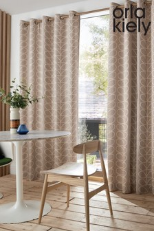 Orla Kiely Exclusive To Next Linear Stem Eyelet Curtains
