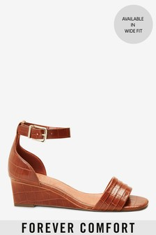 Tan Forever Comfort® Low Wedges