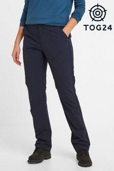 Tog 24 Blue Denver Womens Tech Long Walking Trousers